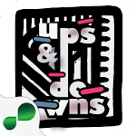 Ups & Downs Doodle Icon
