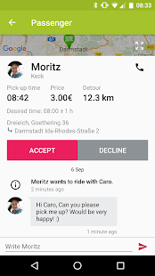flinc - Ridesharing- screenshot thumbnail