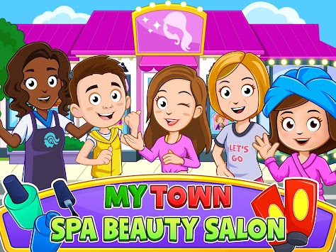 My Town : Beauty Spa Saloon apk screenshot