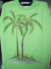 Photo: 104 Palm trees. Color: light green. $29.00