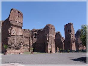 Photo: Tremas de Caracalla ( Roma) http://www.viajesenfamilia.it/