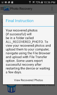 Photo Recovery- gambar mini screenshot