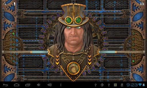 Steampunk Face Free