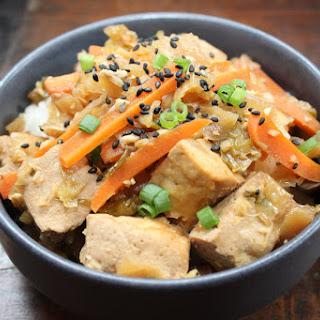 Instant Pot Korean Homestyle Tofu with Rice (PIP) Recipe