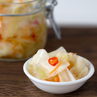 Pickled Chinese Cabbage.