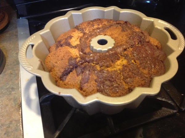 Remove from oven and allow to sit at least 10 minutes before inverting onto...