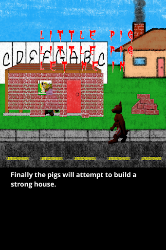 Three Little Pigs Book Screenshot
