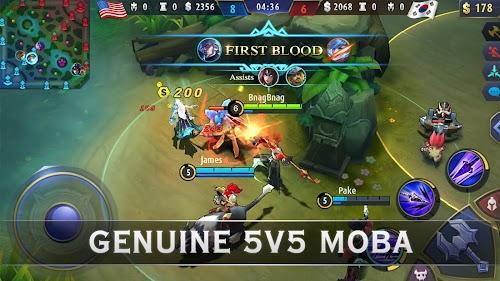 Screenshot 1 Mobile Legends: Bang Bang 1.3.16.3223 APK+DATA MOD