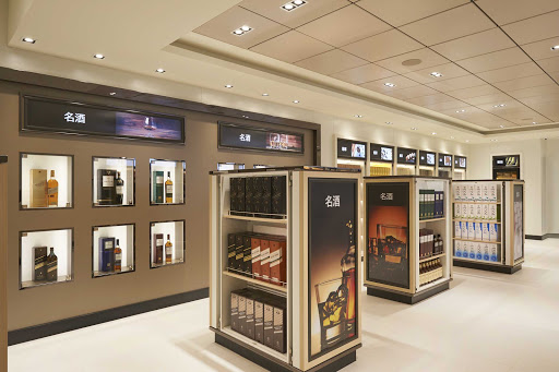 Stop in the duty-free shops for premium tobacco products and spirits on Norwegian Joy.