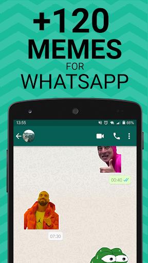 Meme Stickers for WhatsApp 1.07 screenshots 1