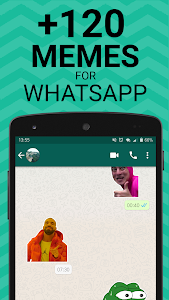 Meme Stickers for WhatsApp 1 05 + (AdFree) APK for Android