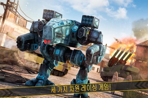 로봇과 전쟁 의탱크게임3D