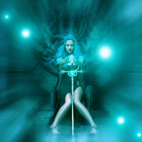 Wonder Girl will kill you by Rezza Herdiyanto - Digital Art People