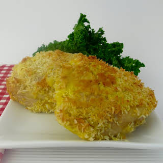 Crispy Paleo Coconut Chicken.