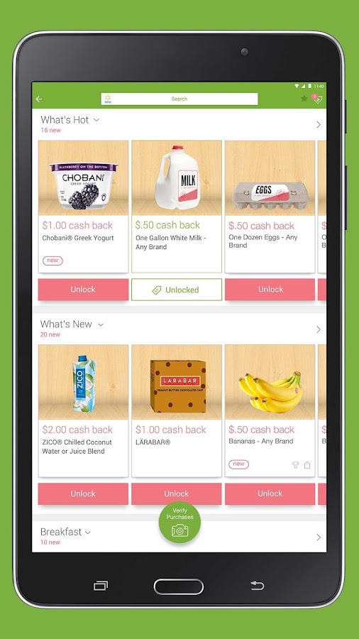 Ibotta: Cash Savings & Coupons- screenshot