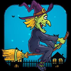 👈 ® لعبة مغامرات Halloween Witch Magic مجانية للأندرويد