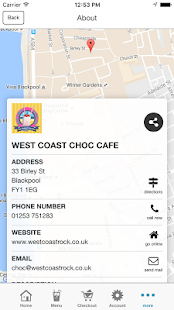 West Coast Choc Cafe- screenshot thumbnail