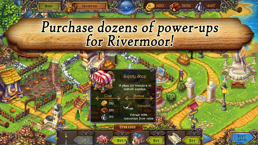 Runefall - Medieval Match 3 Adventure Quest android2mod screenshots 5
