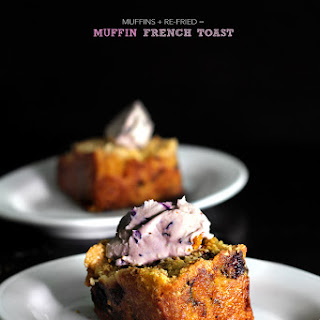 BLUEBERRY SLAB-MUFFIN FRENCH TOAST.