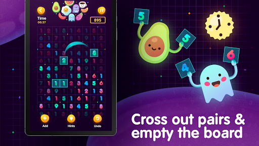 Numberzilla - Number Puzzle | Board Game - screenshot