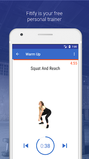 Warm Up & Cool Down by Fitify screenshot 1