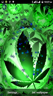 Falling Weed Live Wallpaper Download Weed Marijuana Live Wallpaper Android Apps On Google Play