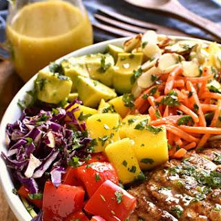 Caribbean Grilled Chicken Salad.