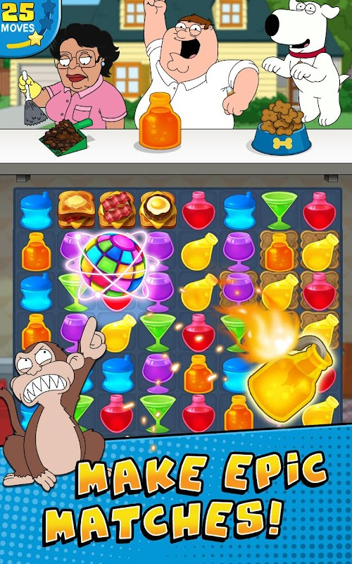 Screenshot 1 Family Guy- Another Freakin' Mobile Game 2.5.9 APK MOD