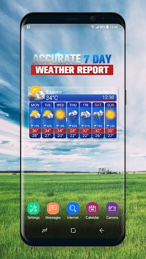 Free Weather Forecast App Widget 16.6.0.50076 screenshots 2