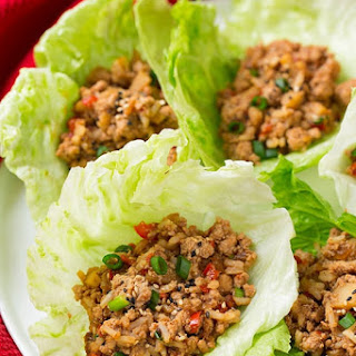 Slow Cooker Asian Chicken Lettuce Wraps Recipe