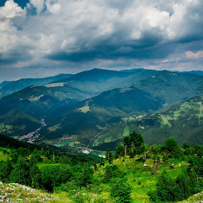 Mountain by Raluca Bălan - Landscapes Mountains & Hills ( green, trees, landscape, rocks, photography,  )