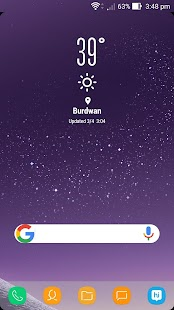 Theme for Galaxy S8 Screenshot