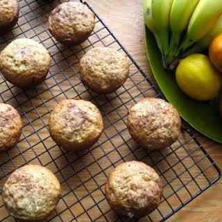 Banana Cinnamon Muffins.