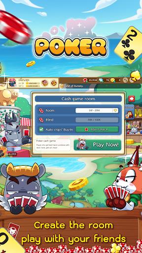 Free Poker Toon  Texas Online Card Game  screenshots 4