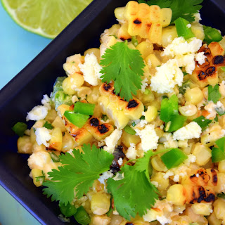 Grilled Sweetcorn Salad