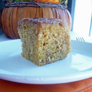 Pumpkin Maple Coffee Cake