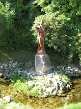 Photo: postój przy pomniku świerszcza w Szczebrzeszynie