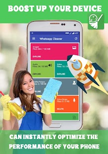 Free up Space Cleaner for WhatsApp - náhled