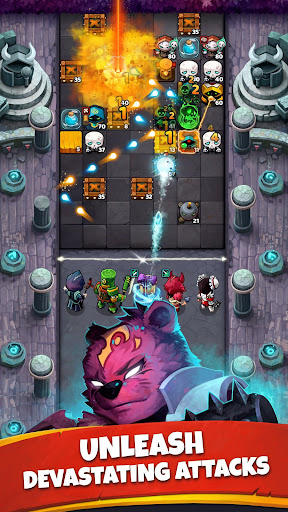 Battle Bouncers - RPG Legendary Brick Breakers modavailable screenshots 3