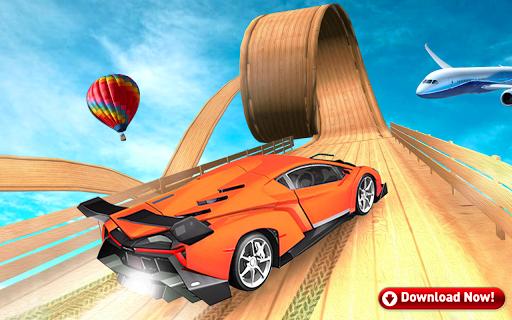 Mega Stunt Car Race Game - Free Games 2020 3.4 screenshots 3