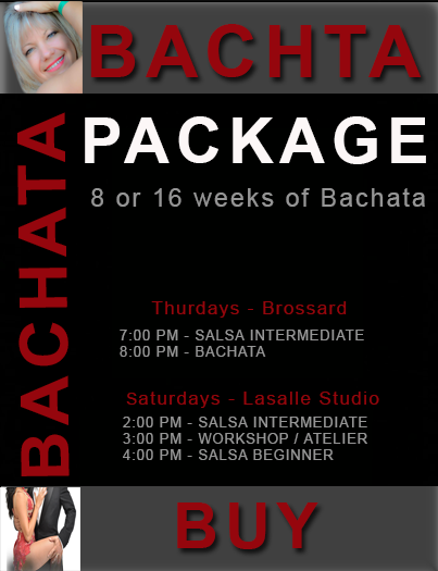 Learn to dance Hot Latin Bachata Classes from the finest Instructors in Montreal - Dance Courses: group-private lessons