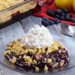 Lemon Blueberry Dump Cake Fits the Bill for the Easiest, Most Delicious Cake You'll Ever Bake!.