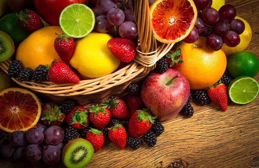 新鲜水果拼图
