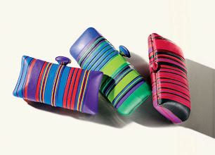 Photo: RONNIE KIRSCH Exclusively ours. One-of-a-kind multicolor clay clutch. $945–$995. USA. Main Floor. 212 872 8775