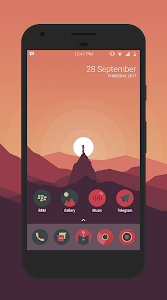 Sagon Circle Icon Pack: Dark UI 8.9 (Patched)