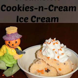 Creamsicle Cookies N Cream Ice cream