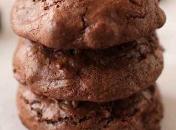 Fudge Ecstasies Cookies Recipe