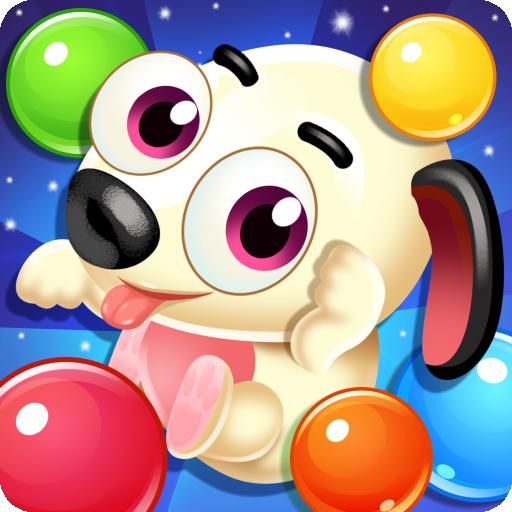 Pet Puppy bubble pop