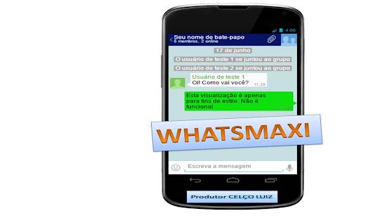 whatsMaxi - náhled