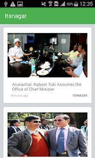 Arunachal24 screenshot